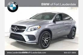 mercedes of pompano florida used mercedes gle class coupe for sale in pompano fl
