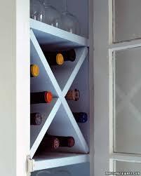 how to build a wine rack in a kitchen cabinet kitchen organizers martha stewart