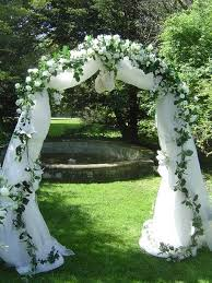 wedding arches using tulle charming wedding arch decorated with tulle 34 about remodel