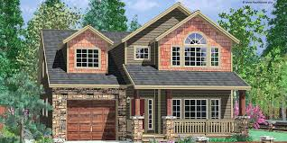 Log Garage Apartment Plans Narrow House Plans With 2 Car Garage Photos U2013 Venidami Us