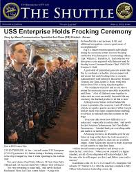 uss enterprise holds frocking ceremony by u s navy issuu