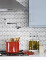 Subway Tile Backsplash Ideas For The Kitchen Best 25 White Hexagonal Tile Ideas On Pinterest Hexagon