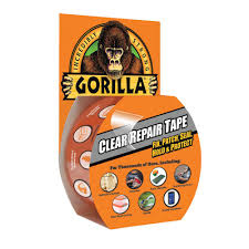 Rv Awning Tape Gorilla Tape 1 88 In X 9 Yds Clear Repair Tape 60270 The Home