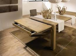 expandable wood dining table expandable dining room table kobe table