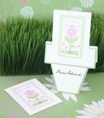 seed favors flowers in bloom eco friendly seed packets with flower pot card