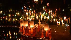 Festival Of Lights Thailand Chiang Mai Thailand November 7 Loy Krathong Festival In
