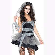 Womens Ghost Halloween Costumes Halloween Ghost Bride Vampire Witch Zombie Dark Princess