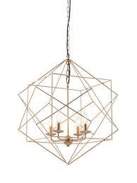 gold wire geometric pendant light modern furniture u2022 brickell