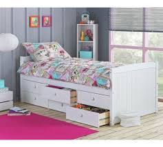 Cabin Bed Frame Buy Collection Lennox 6 Drawer Cabin Bed Frame White At Argos Co
