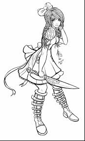 fabulous alice wonderland characters coloring pages alice