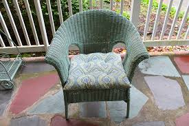 Can You Paint Wicker Chairs Painting Wicker Furniture With Chalk Paint Thirty Something