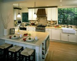 Kitchen Design With Windows by Natural Kitchen Lighting With Windows And Dining Table Kitchen
