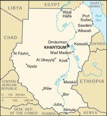 africa map khartoum sudan completes informations map booking hotels in sudan