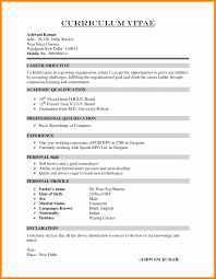 cv format for freshers mca documents mca fresher resume format elegant remarkable resume declaration
