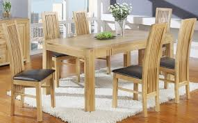 Light Oak Dining Room Sets Minimalist Light Oak Dining Room Set Thesoundlapse Table