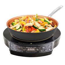 as seen on tv nuwave precision gold 2 pc induction cooktop set