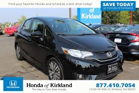 new 2017 honda fit ex hatchback in kirkland 172209 honda of