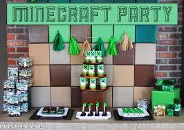 minecraft party featured party minecraft party paper crush