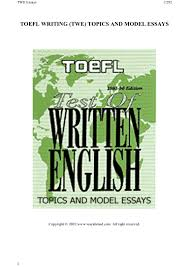 toefl essay samples toefl writing topics and model essays 185 toefl writing topics and model essays