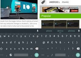 android keyboard app android l keyboard app now available on play store