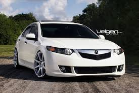 acura tsx acura tsx on velgen wheels 6speedonline porsche forum and