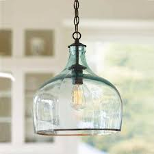 Blue Glass Pendant Light 15 Photo Of Blue Mercury Glass Pendant Lights