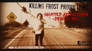 killing frost productions road signs haunted attraction 2016