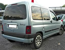 citroen berlingo file citroën berlingo i facelift rear jpg wikimedia commons