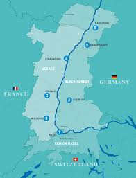 Black Forest Germany Map Art U0026 Culture Upper Rhine Valley