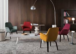 Minotti Armchair Contemporary Armchair Fabric By Rodolfo Dordoni York Lounge