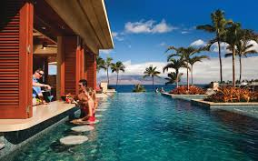 coolest swim up bars in the world travel leisure