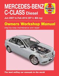 mercedes repair manuals mercedes c class diesel jun 07 feb 14 07 to 63 haynes