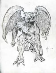 a gargoyle tattoo design in 2017 real photo pictures images and