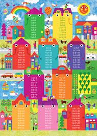 multiplication tables for children multiplication table on behance