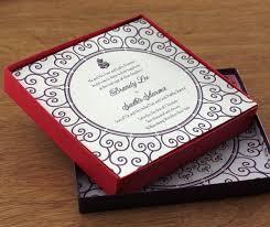 Wedding Invitations Box Luxurious Wedding Invitation Boxes Letterpress Wedding