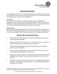 resume chronological format chronological order resume template resume chronological order