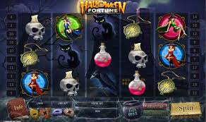play the halloween fortune slots game at ladbrokes casino