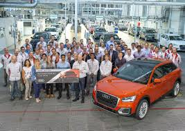 audi germany q2 enters production at ingolstadt plant in germany