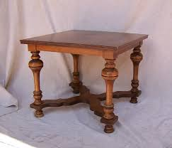 sofa table chair rare tell city chair co table end table sofa table with labels