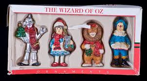 vintage kurt adler santa s world wizard of oz 4 5 ornaments box