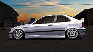 bmw e36 stanced virtual stance works bmw e36 compact megapack