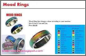 good mood colors mood ring colors mean excellent top red mood ring u color
