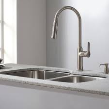 kitchen sink and faucet combo kitchen sink combos you ll wayfair