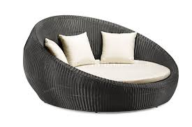 Wicker Patio Lounge Chairs Table Round Outdoor Furniture Wicker Talkfremont