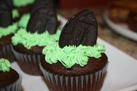 football cupcakes football cupcakes busymomblogs