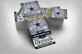 sports invites dallas cowboys christmas sports invitations