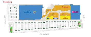 Plaza Las Americas Map by