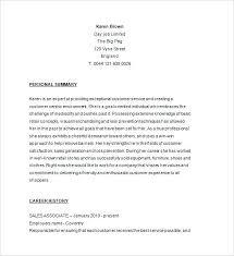 sample resume basic retail store associate sample resume sample