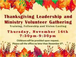 we are the cityline church thanksgiving leadership ministry