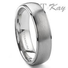 satin finish ring londo titanium 6mm satin finish wedding band ring